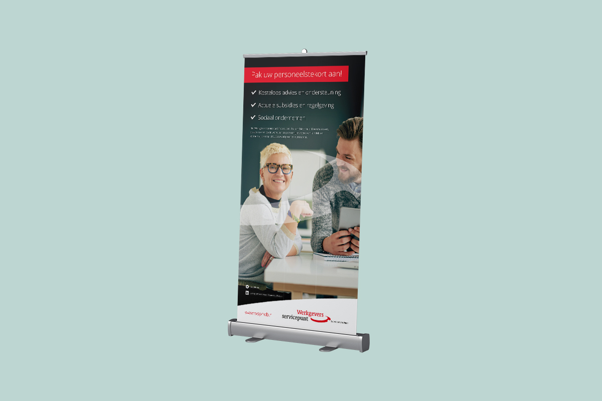 WSP roll-up banner